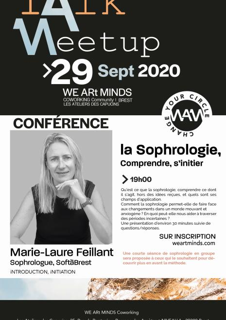 Invitation talk - Sophrologie à WEARtMINDS